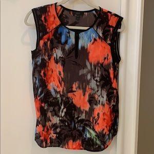 J. Crew ombré floral blouse size 4